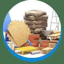 Все необходимые строительные и отделочные материалы доставляются на объект силами компании-подрядчика. Специалисты приступают к решению поставленных задач.